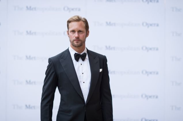 Alexander Skarsgard checked out an East Village penthouse.