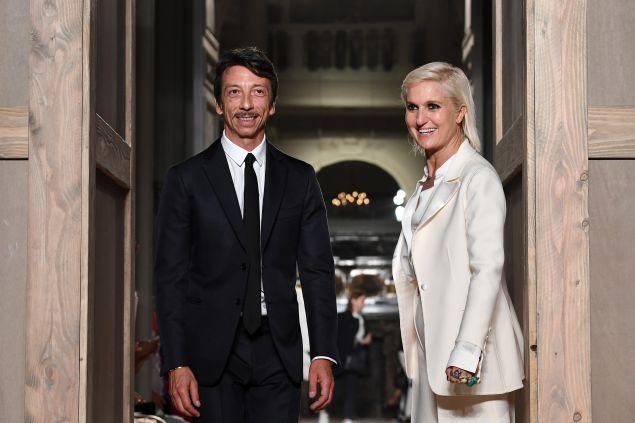 Pierpaolo Piccioli and Maria Grazia Chiuri.