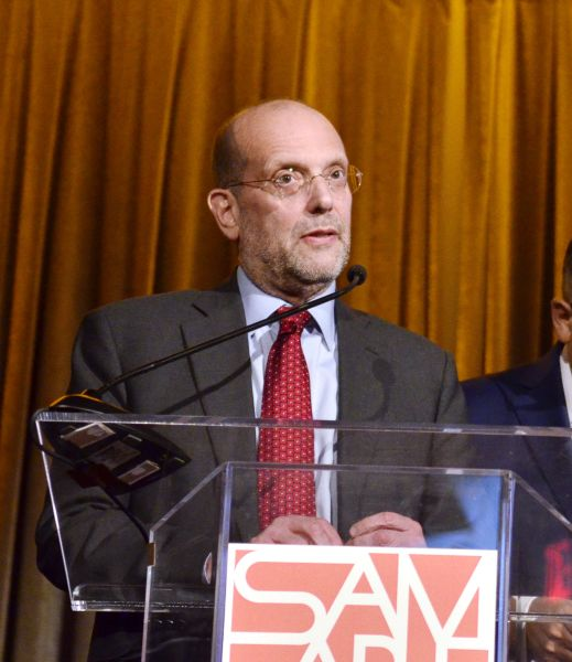 Commissioner of the New York City Human Resources Administration/Department of Social Services Steven Banks speaks at the 2016 Samaritan Daytop Foundation Gala at Tribeca Rooftop on October 26, 2016 in New York City.