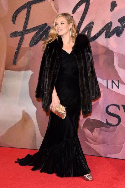Kate Moss at the Fashion Awards.