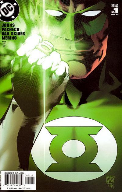 Green Lantern vol. 4 #1 (July 2005), art by Carlos Pacheco.