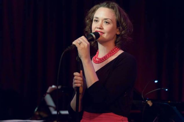 Hilary Gardner at Birdland.