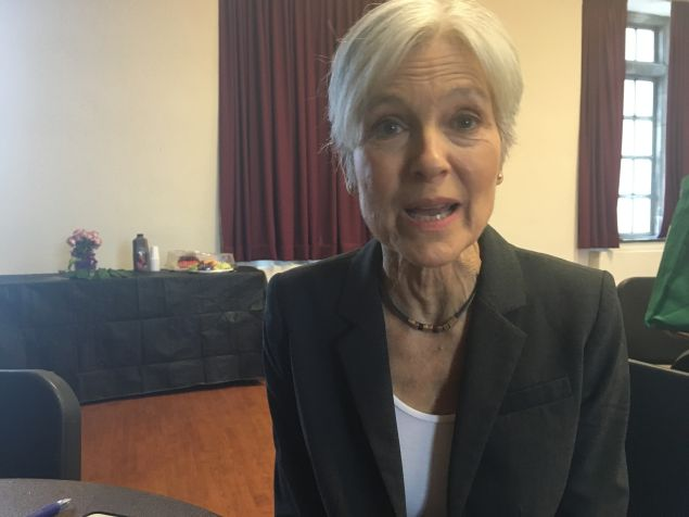Green Party presidential candidate Jill Stein speaks to the Observer after a conference in Morningside Heights.