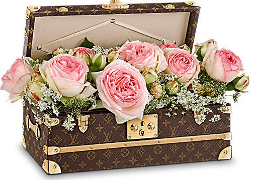 Louis Vuitton Hard Sided Malle Fleur, tk, tk