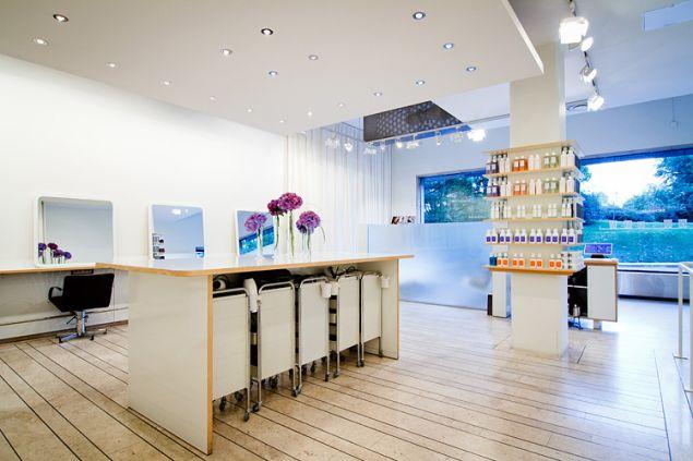 Inside Sachajuan's Stockholm salon.