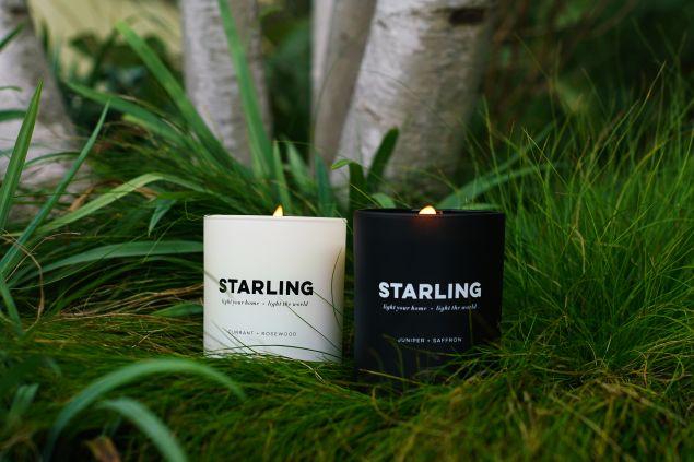 Starling Project Juniper and Currant scents.