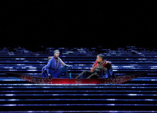Tamara Mumford and Eric Owens, adrift in Kaija Saariaho's 'L'amour de Loin'