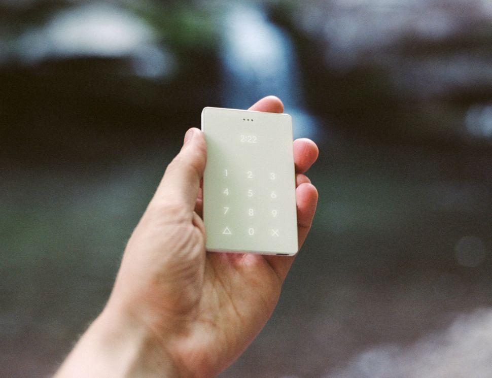 The Light phone.