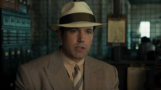 Ben Affleck as Joe Coughlin in Live By Night.