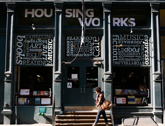Housing Works Bookstore.