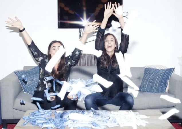 The Lola Co-founders, Jordana Kier and Alexandra Friedman.