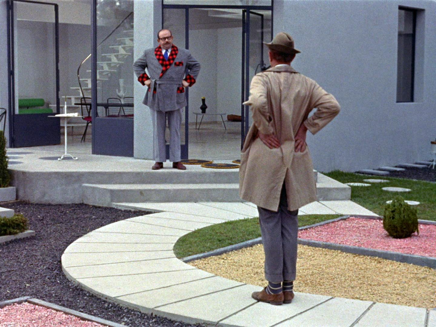 """A still from """"Mon Oncle,"""" by Jacques Tati"""