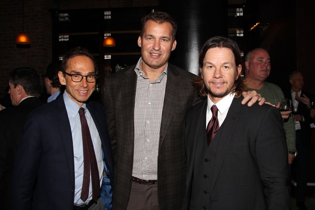 Michael Radutzky, Scott Stuber, Mark Wahlberg.