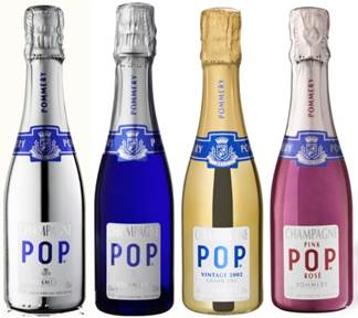 POP by Champagne Pommery.