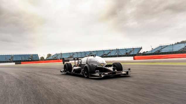 Devbot, by Roborace, which aims to create a self-driving competitive racing circuit.