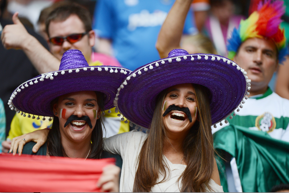 Students wearing sombreros can spur an investigation at some colleges.