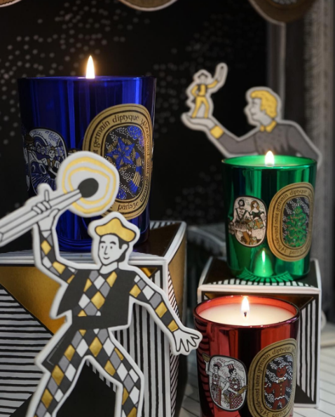 Diptyque offers a number of delightful holiday scents.