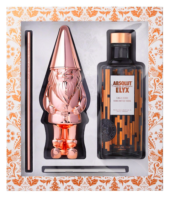 Copper gnome gift set by Absolut Elyx