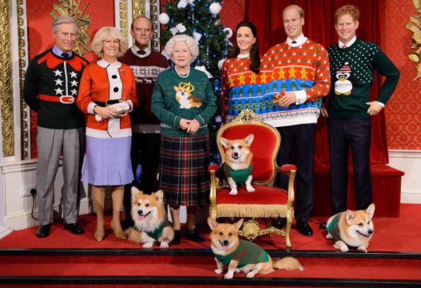 The royal family gets festive.