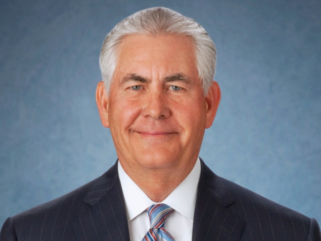 Rex Tillersen, CEO of Exxon Mobil, is reportedly Donald Trump's first choice for Secretary of State.