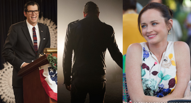Veep, The Walking Dead and Gilmore Girls: A Year in the Life.