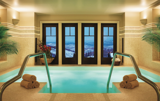 The spa at the Montage Deer Valley.