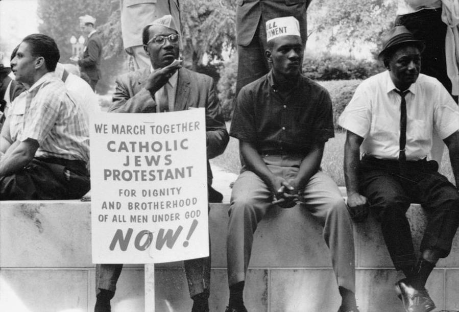 Religious institutions played a major role in the Civil Rights Movement.
