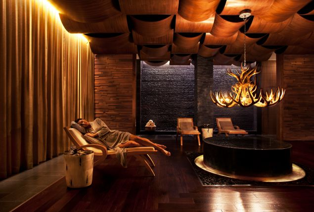 The spa at the Viceory Snowmass.