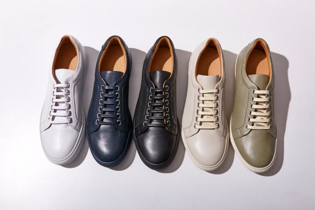 Armando Cabral shoes, in collaboration with Theory.