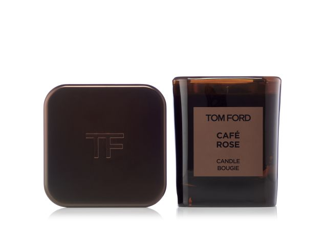 Tom Ford Private Blend Candle in Café Rose