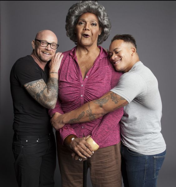 Buck Angel, Major Griffin Gracy and Shane Ortega.