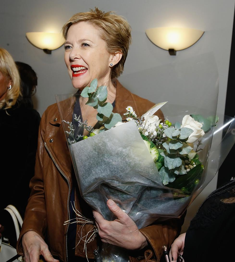 Annette Bening honored at the Plaza Hotel.