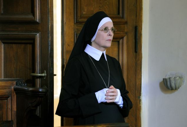 Diane Keaton as Sister Mary.