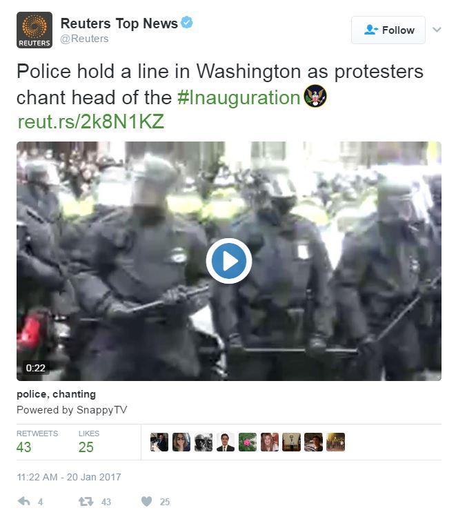 Tweet from @Reuters.