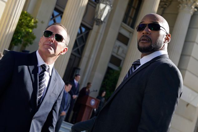 """Clark Gregg as Agent Phil Coulson and Henry Simmons as Agent Alphonso """"Mack"""" MacKenzie."""