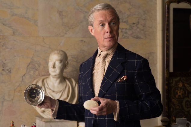 Alex Jennings as the Duke of Windsor on The Crown.