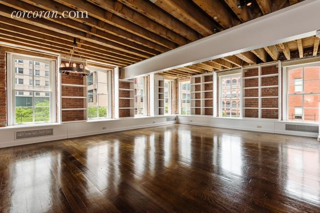 The Tribeca loft Roosevelt just sold.