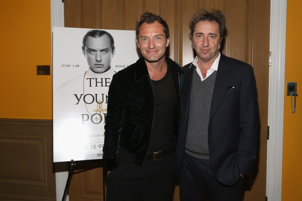 Jude Law, Paolo Sorrentino.