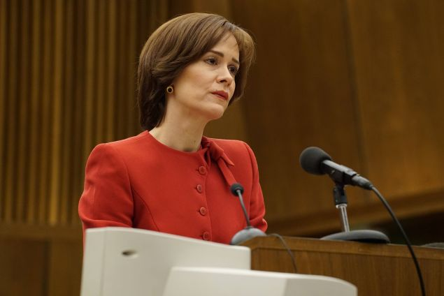 Sarah Paulson in The People v OJ Simpson: American Crime Story.