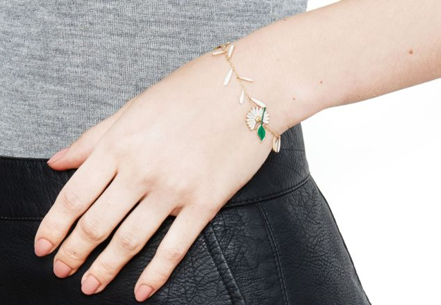 Pluck an enamel petal from Alison Lou to celebrate five years.