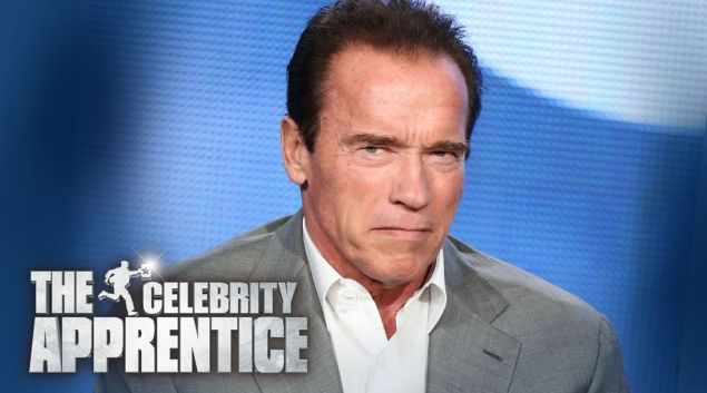 arnold schwarzenegger: new host of The Celebrity Apprentice.