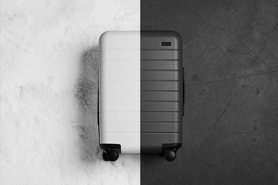 Away luggage.
