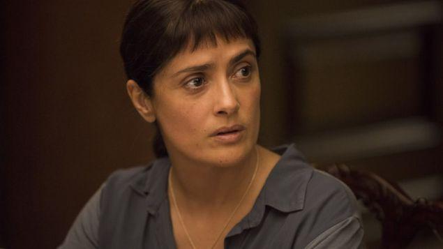 Salma Hayek in Beatriz at Dinner.