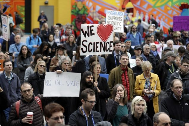 Will the Scientists' March on Washington have the same effect the Women's March did?
