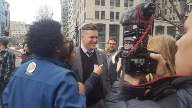 The moment right before Richard Spencer became an internet meme.