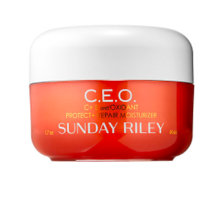 Sunday Riley C.E.O. C + E antiOXIDANT Protect + Repair Moisturizer.