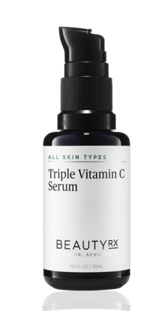 Beauty RX by Dr. Schultz Triple Vitamin C Serum.