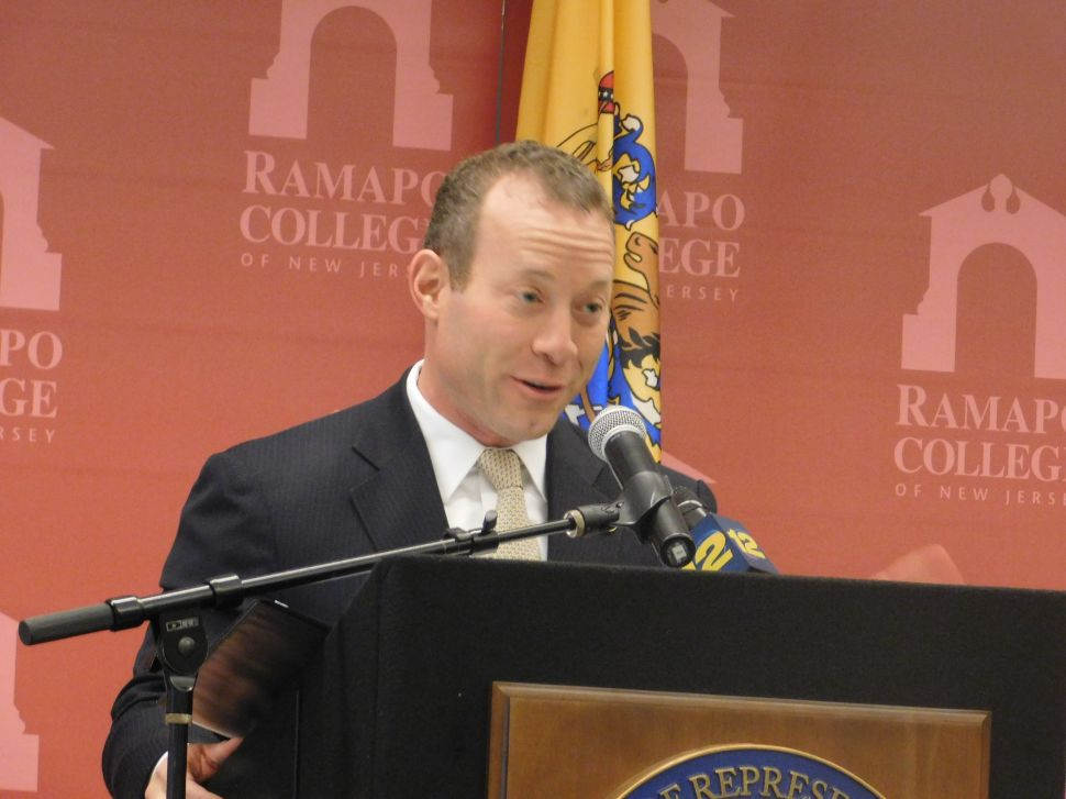 Josh Gottheimer dodged at least one strong challenger for 2018.