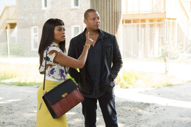 Taraji P. Henson and Terrence Howard in Empire.