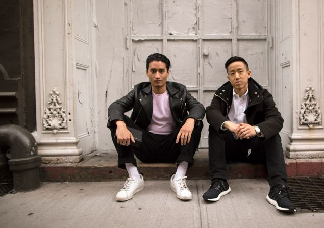 Phillip Wong and Brian Jeong of Hawthorne for Men.